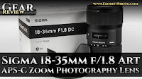 Sigma 18-35mm f/1.8 DC HSM Art APS-C Zoom Photography Lens | Gear Review