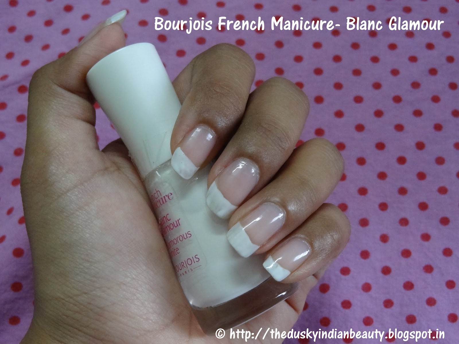 Bourjois French Manicure- Blanc Glamour/ Glamorous White: Review and ...