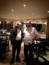 انا والمخرج العماني الكبير خالد الزدجالي