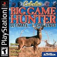 Cabelas Big Game Hunter: Ultimate Challenge   PS1