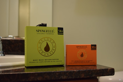 spongelle, beyond cleansing, body buffer, pedi buffer