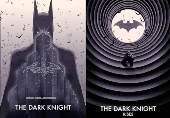 Dark Knight Noir Series by Doaly