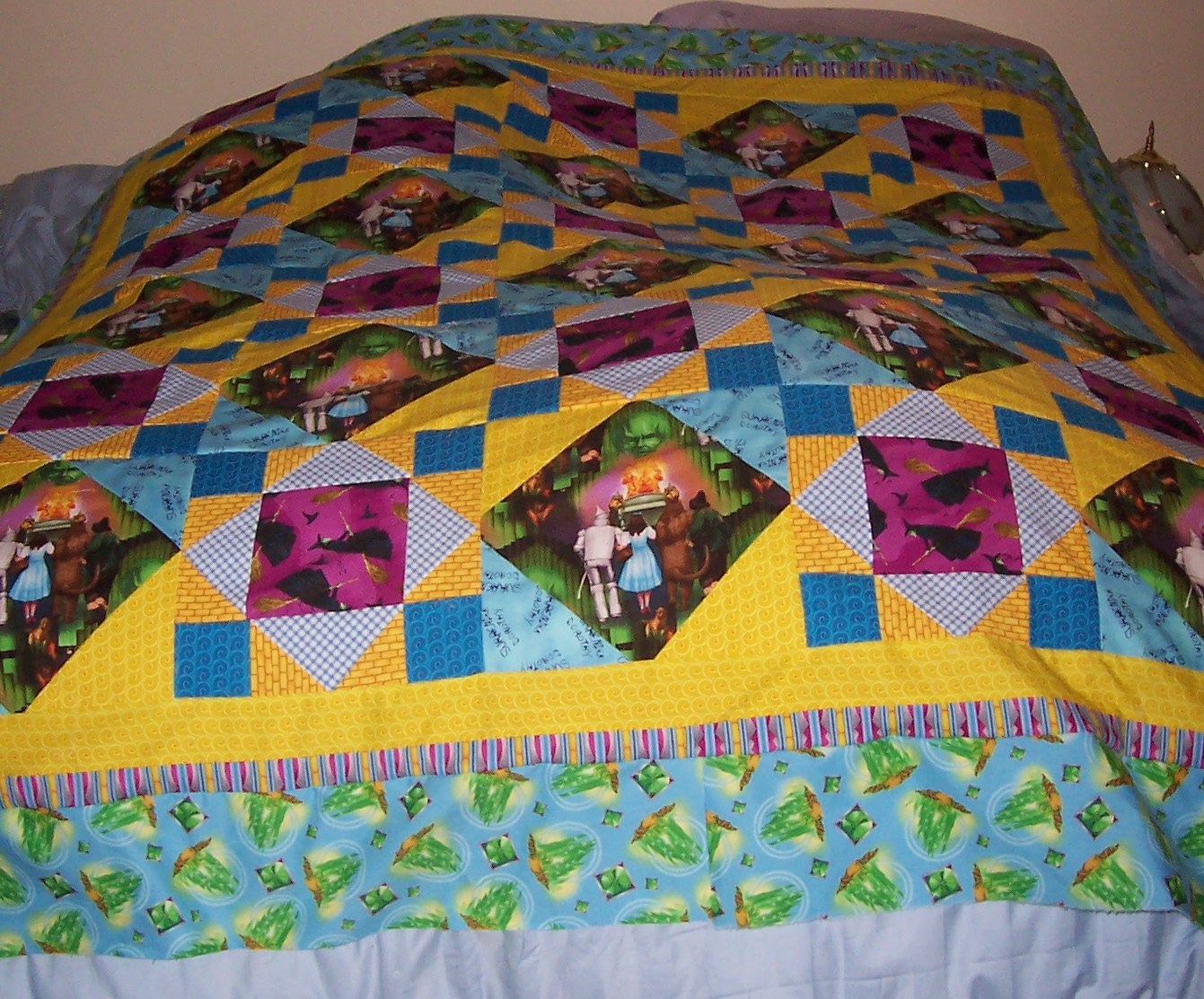 Heavenly Creations by Monique: My Wizard of Oz Quilt : oz quilts - Adamdwight.com