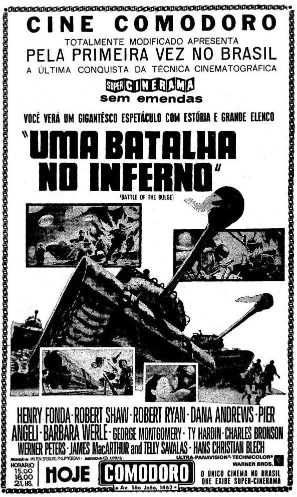 154fd8d604005 Contudo, o Cinerama original foi uma novidade que teve curta duração e a  técnica se mostrou inadequada para produções que não fossem documentários.