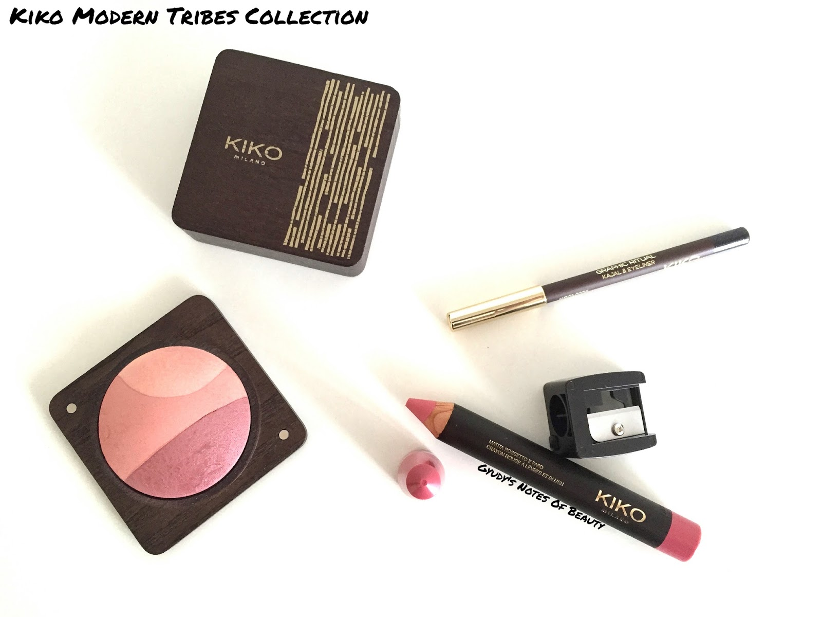 Kiko Modern Tribes Collection Review Graphic Ritual Free Spirit Tribal Soul Blush Pencil