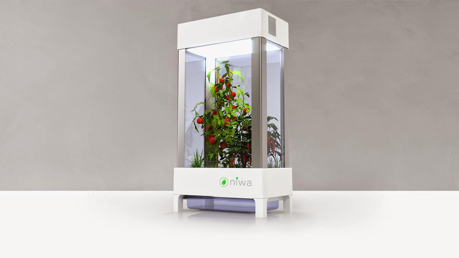 The niwa next generation indoor garden is coming get in for Indoor gardening expo 2014