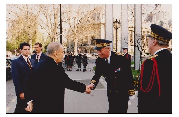 ----- Accueil du Président ----- -------------- Mitterrand -------------