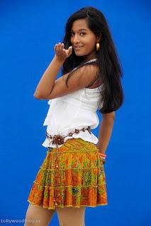 Preetika Rao in Priyadu wearing spicy short Skirt Cute Pictures