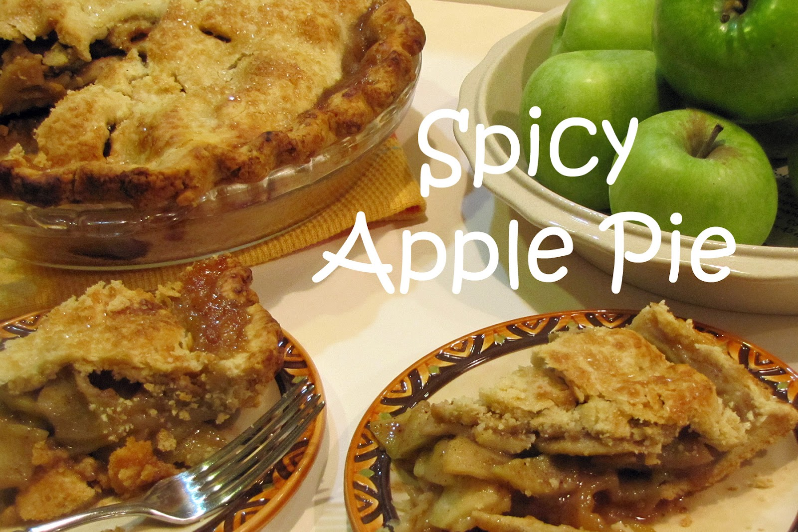 A Spoonful of Thyme: Spiced Apple PIe