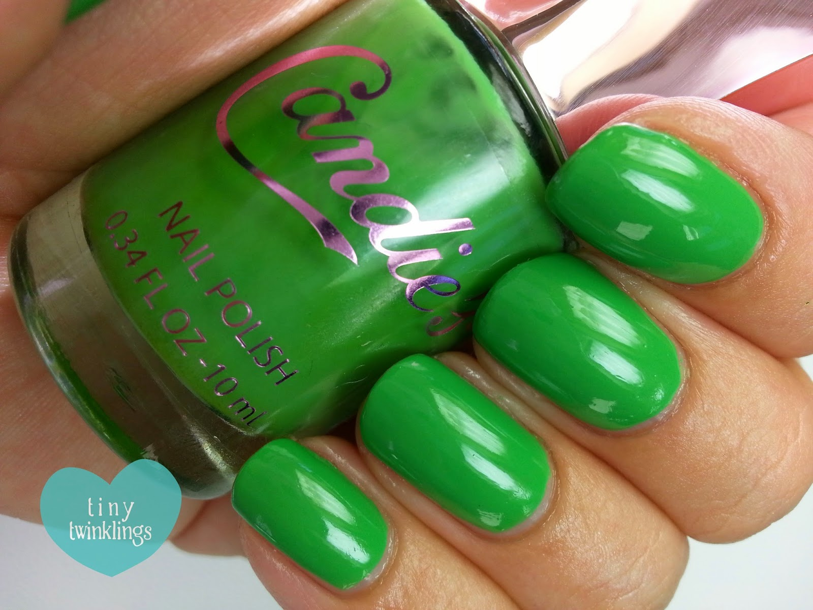 tiny twinklings*: Candie\'s Nail Polish \