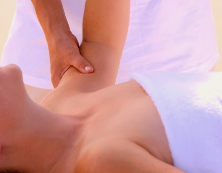Massage Alleviates Stress