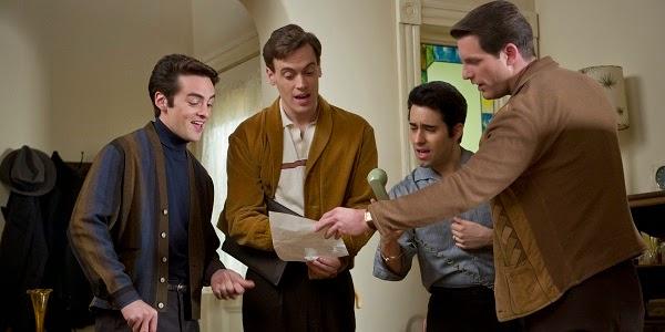 Vincent Piazza, Erich Bergen, John Lloyd Young e Michael Lomenda em JERSEY BOYS: EM BUSCA DA MÚSICA (Jersey Boys)