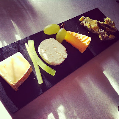 Cheeseboard at Lortolan