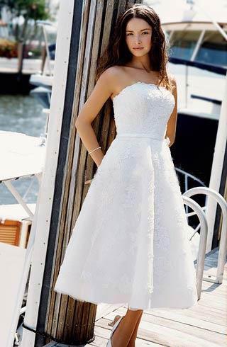 Short Beach Wedding Gown Dresses Short Beach Wedding Gown Dresses