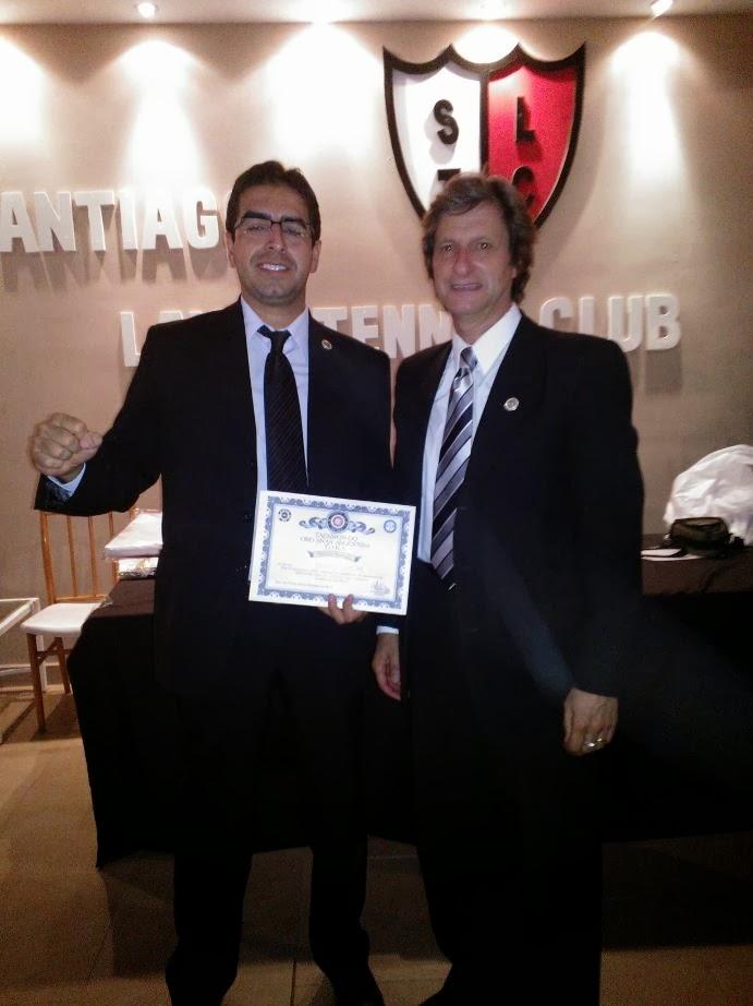 Claudio Salas V Dan- distinguido por 4º vez consecutiva