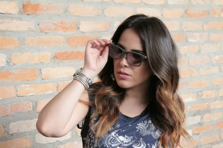 Glamour e Felicidade  Wanessa Camargo na campanha da marca de óculos ... f13b5db5bf