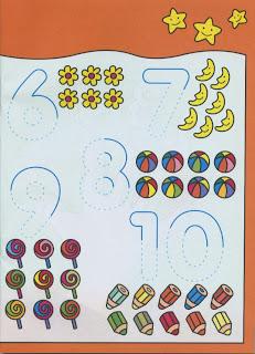 Complete os números