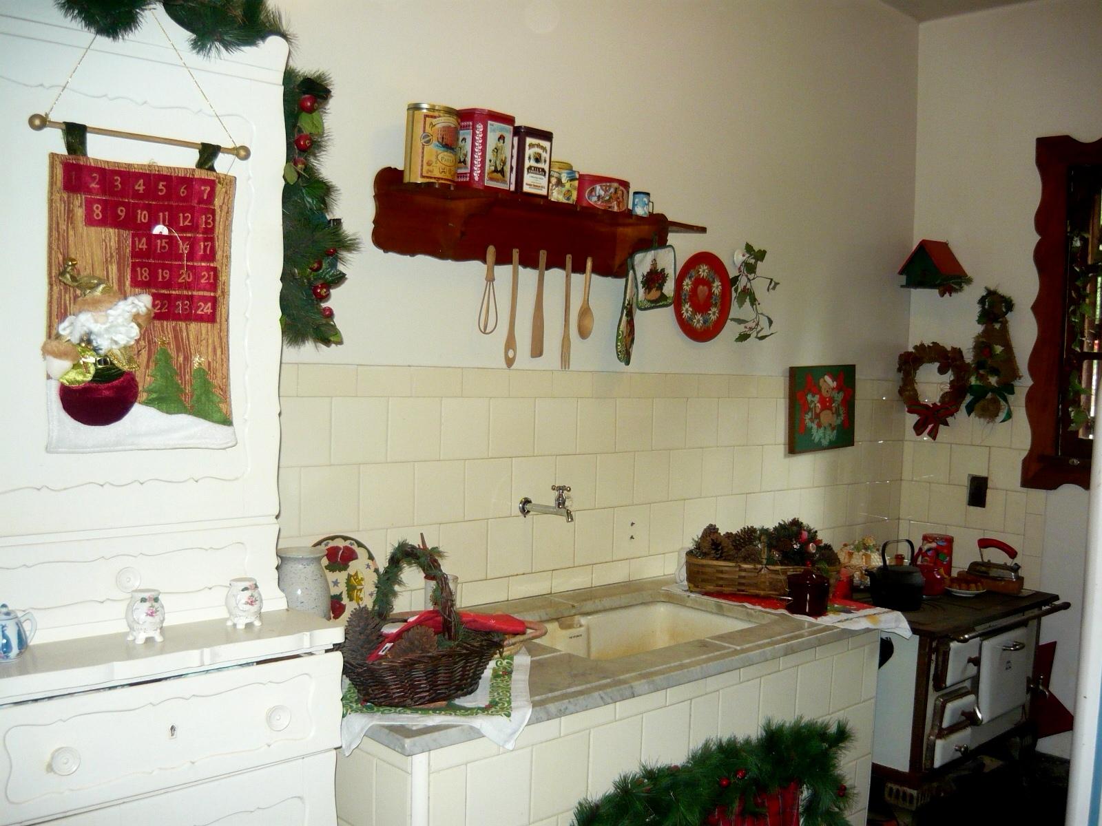 decoracao cozinha natal : decoracao cozinha natal:Cozinha Santa: Gramado, RS – Feliz Natal!!!