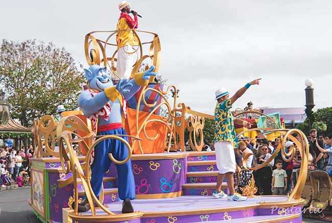 Proyecto 52/10 Desfile Magic Kingdom