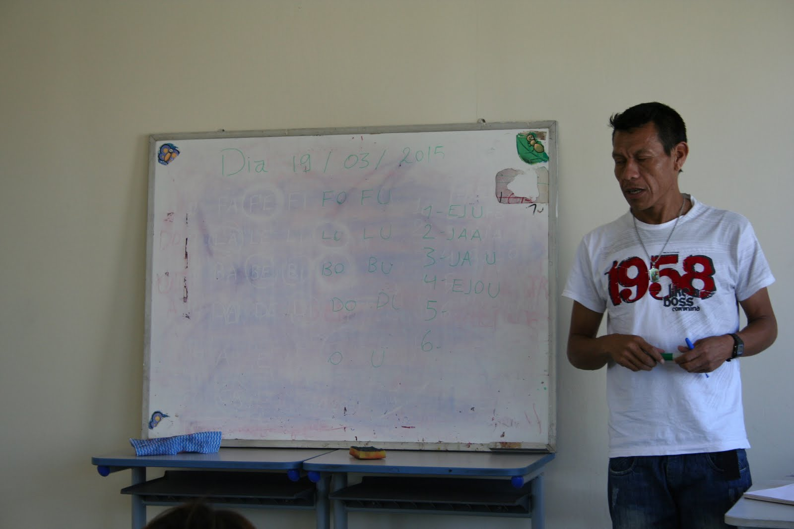 Una scuola Guaranì