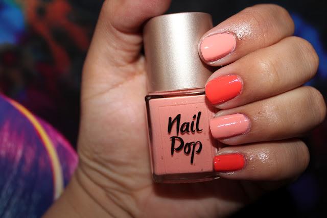 LOOK Beauty Nail Pop in Flamingo
