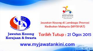 Lembaga Promosi Kesihatan Malaysia (MYSIHAT)