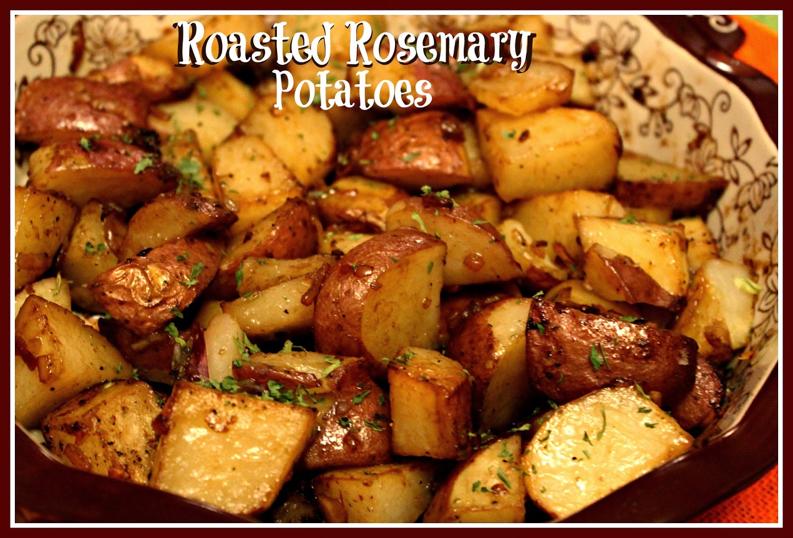Roasted Garlic Soup With Rosemary Roasted Potatoes Recipe — Dishmaps