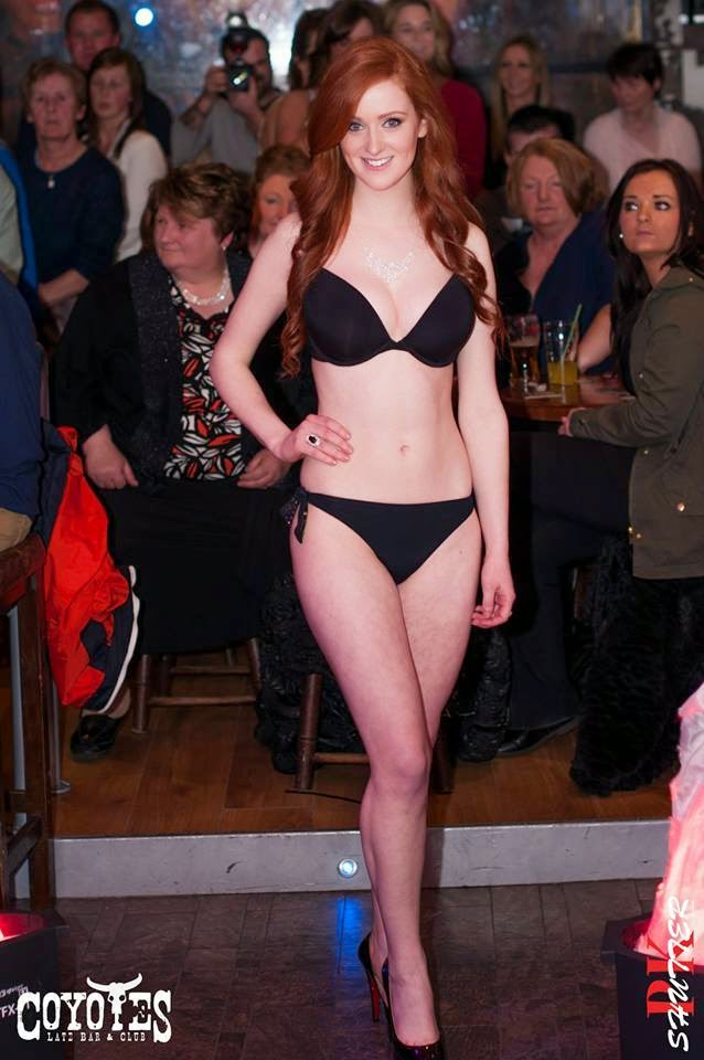 Stephanie Casserly Model bikini Galway