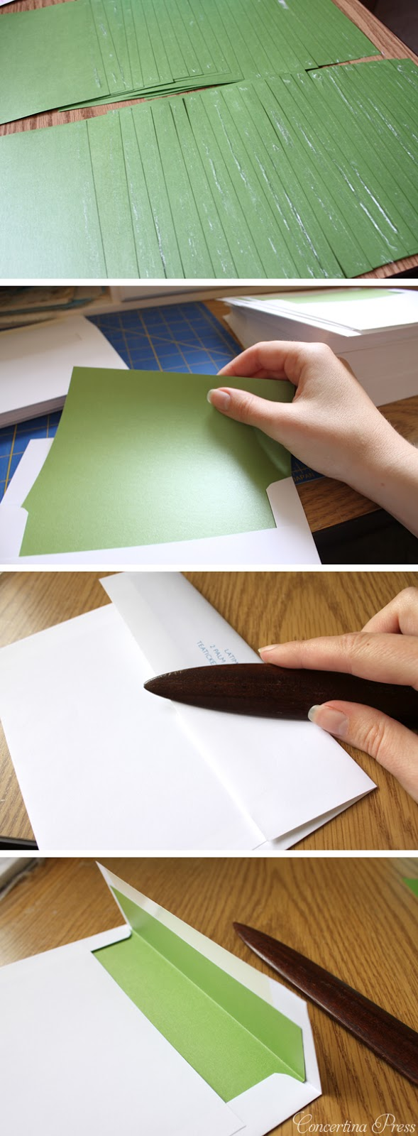 Must Read for DIY Wedding Invites - The Quickest Way to Line Envelopes With Envelope Liners
