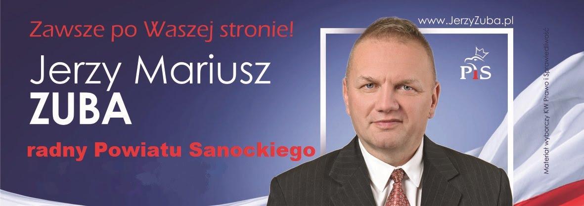 Jerzy Zuba - Radny Powiatu Sanockiego