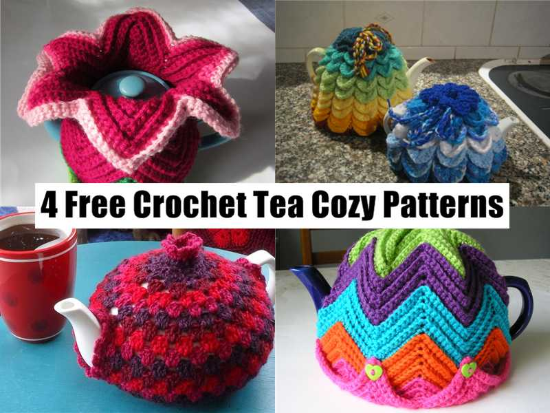 A Cup Of Tea And A Cozy Mystery Four Free Crochet Patterns For Tea