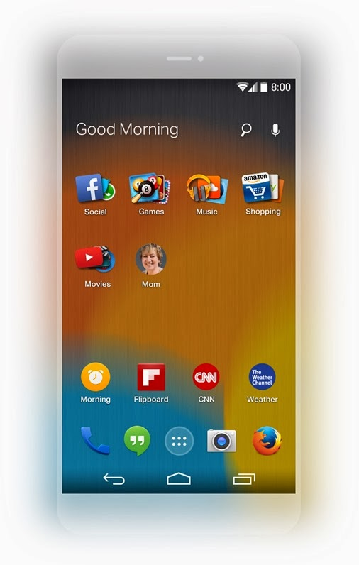 Mozilla-Firefox-launcher-for-android