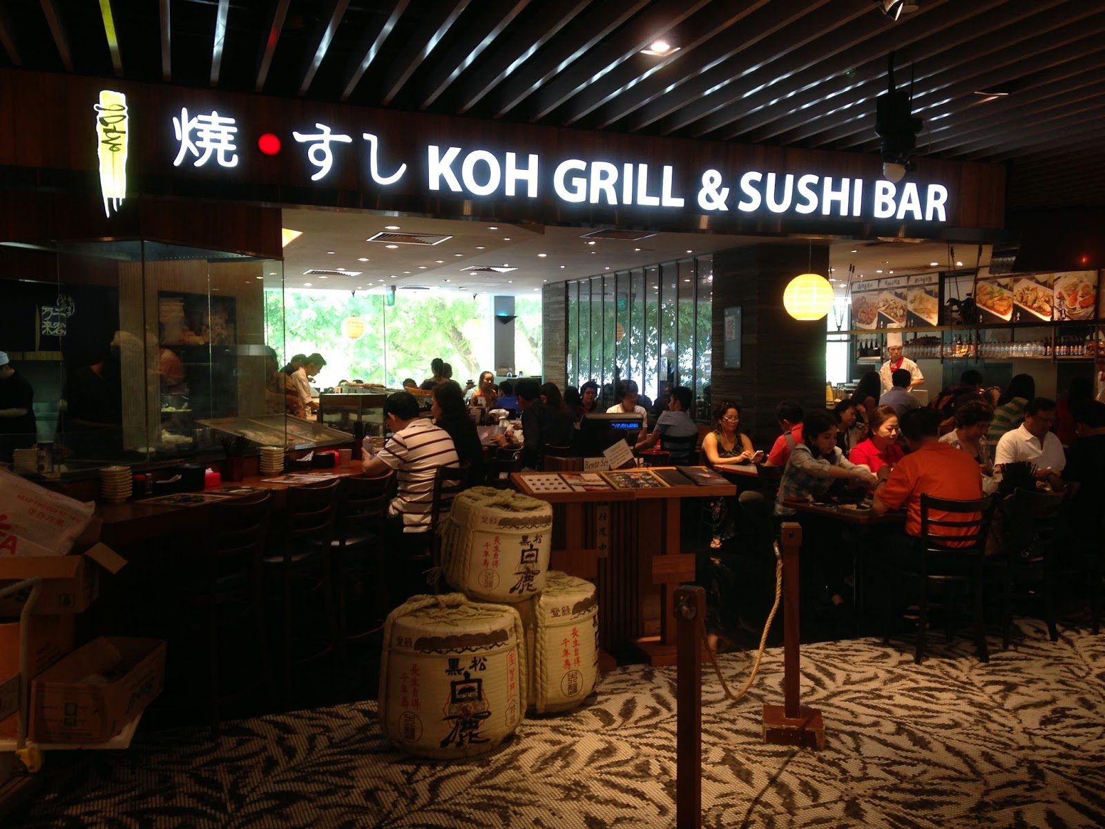 Koh Sushi And Grill Koh Grill Sushi Bar For