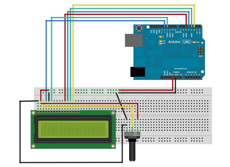 Projetos arduino display lcd