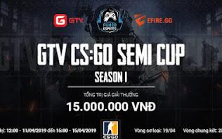 [CS:GO] Tổng hợp kết quả ngày thi đấu thứ tư và lịch thi đấu vòng chung kết GTV CS:GO Semi Cup Season 1.