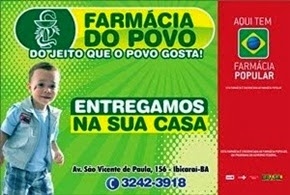 VISITEM AS  FARMÁCIAS DO POVO