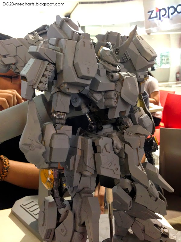 Full Scratch Built Mecha modeling by Mark Bersolaphoto