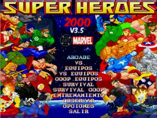 Superheroes 2000 Mugen v3.5