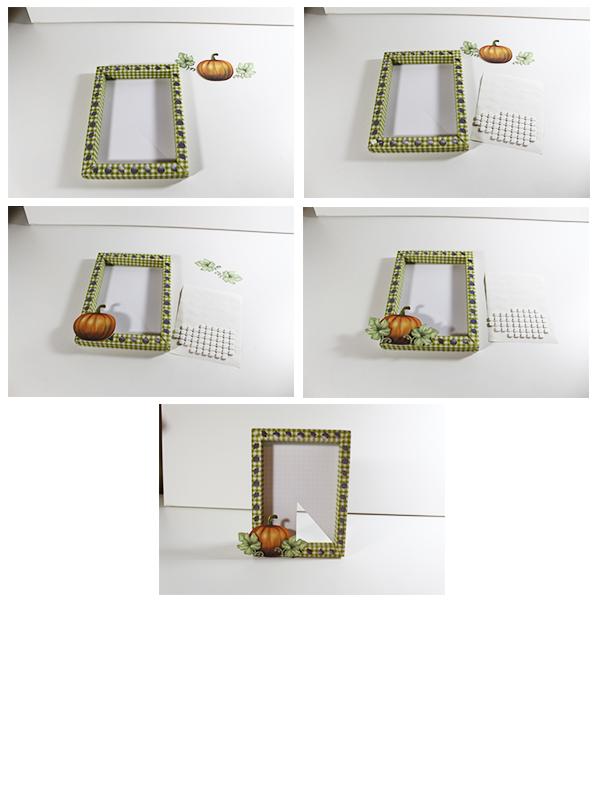 Jmrush Designs Pumpkin 3d 4x6 Frame