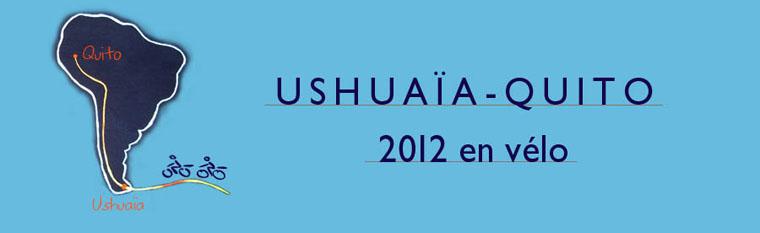 Ushuaia - Quito 2012 en Vélo
