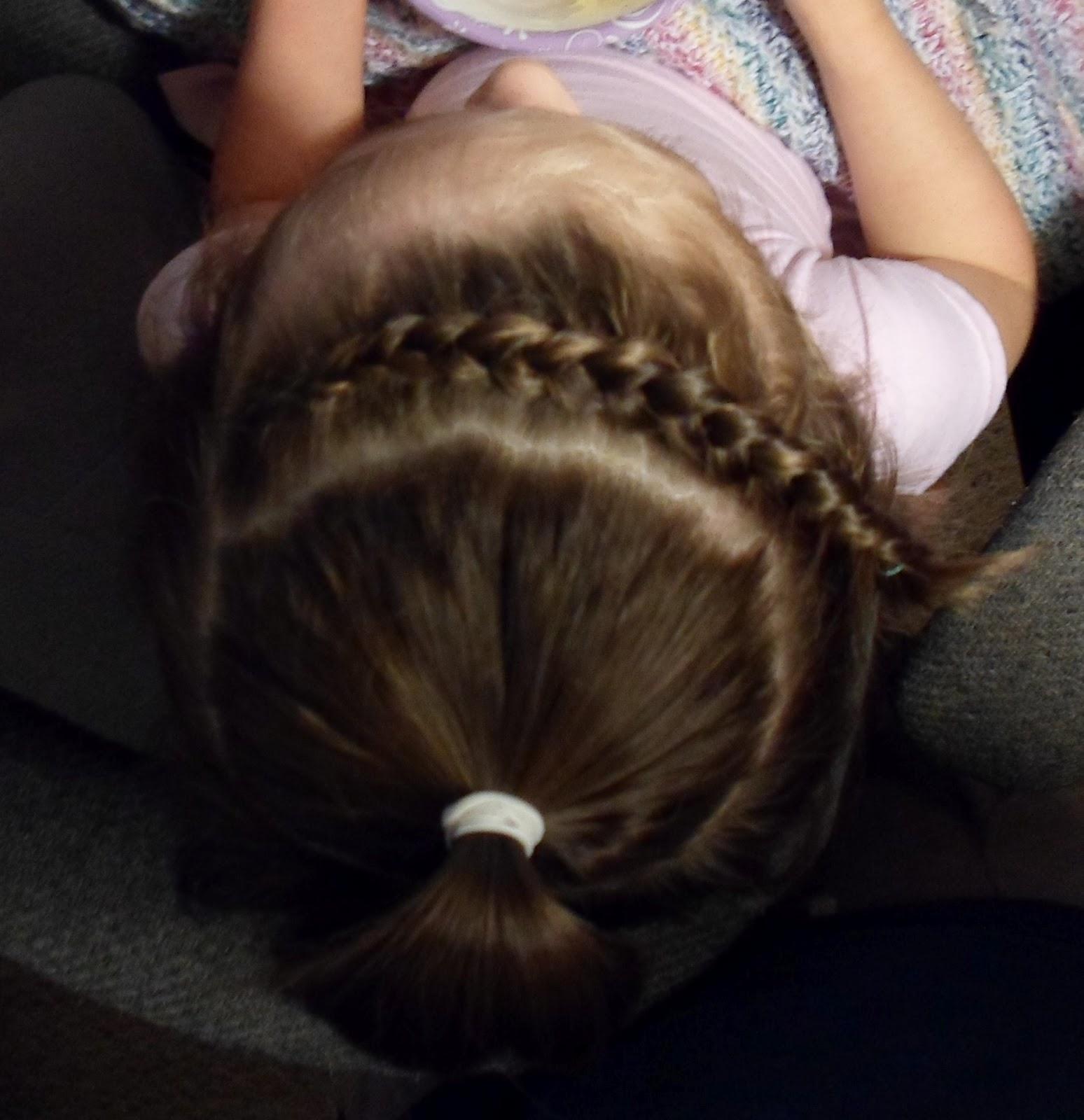 The Hair Band: Mini-Buns with Dutch Braid Accent