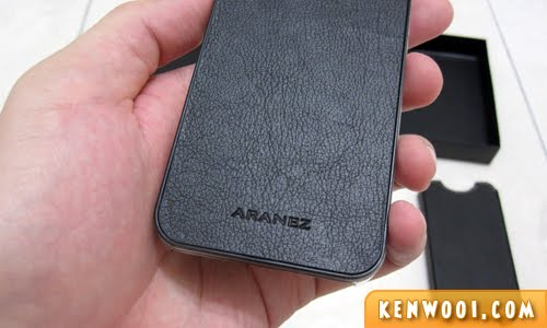 aranez iphone leather case
