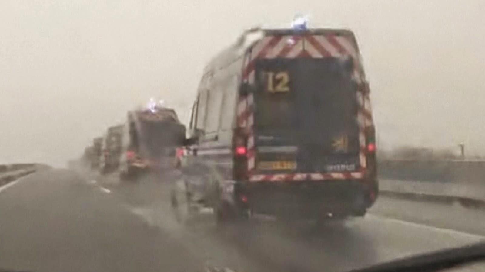 Hostages Taken In North Of France , Terror in France