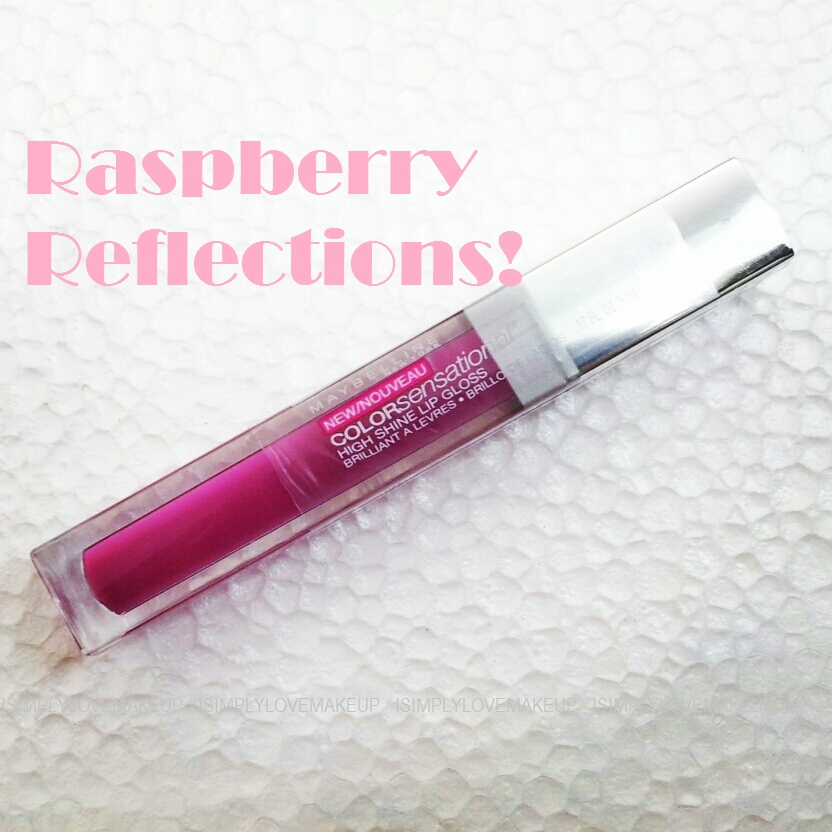 Maybelline Colorsensational Hi Shine Lip Gloss in Raspberry Reflections