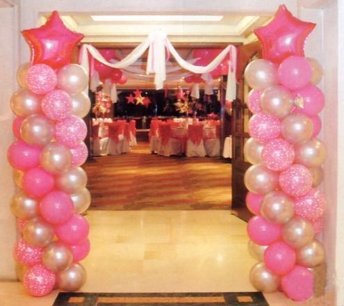 Decoracion con globos armandos decoracion con globos para for Decoracion con globos precios