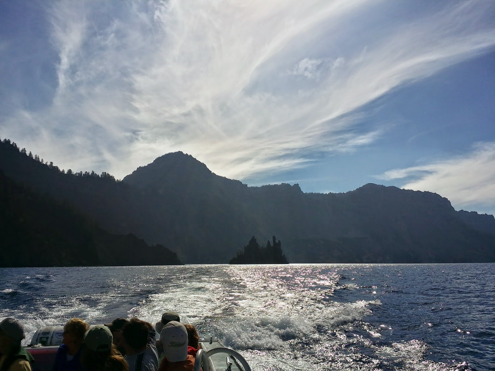 """Phantom Pirate Ship"" at Crater Lake"