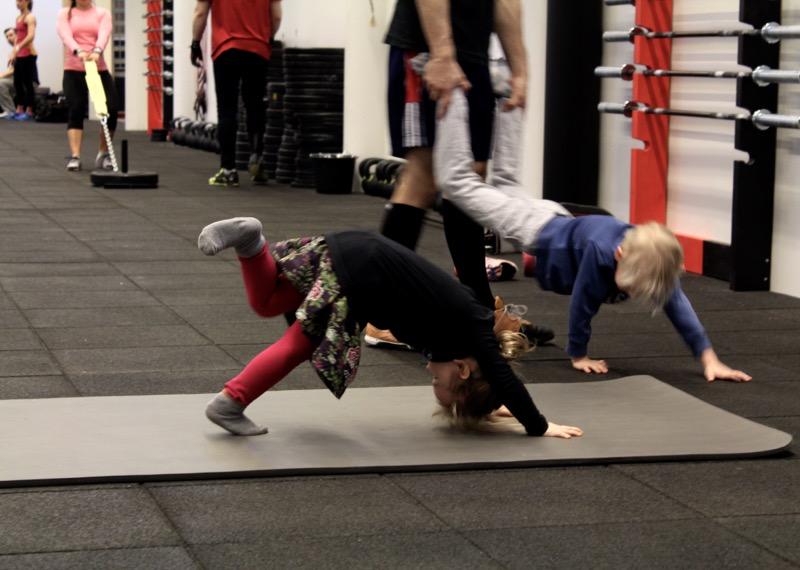 Lasten liikuntaa