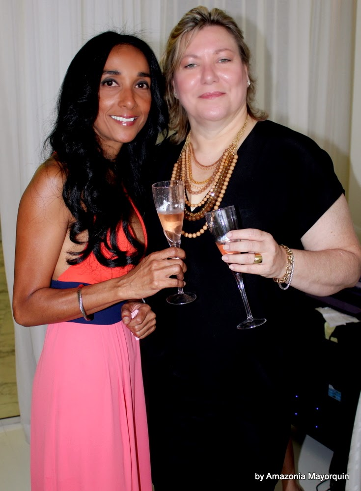 Patricia Chaviedo and Maryam Gallerani.