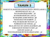 GURU KELAS TAHUN 3