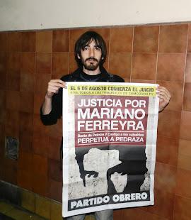 ANGEL BENÍTEZ, ESTUDIANTE DE LENGUA Y LITERATURA, DE TODO UN PALO, TAMBIÉN PIDE JUSTICIA X MARIANO